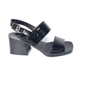 Joan & David black sandals size 7.5 M